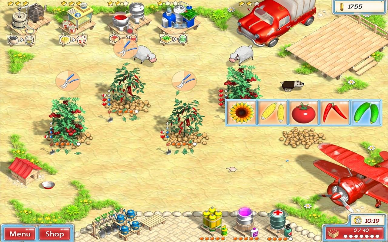 Sunshine Acres Tablet - screenshot
