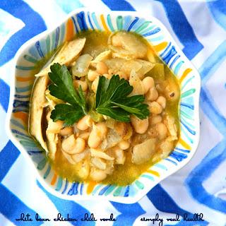 White Bean Chicken Chili Verde