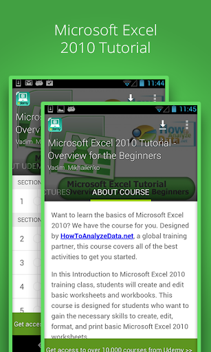 Learn Excel 2010 Free