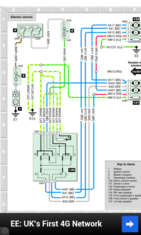 Citroën Saxo Wiring Diagrams- screenshot