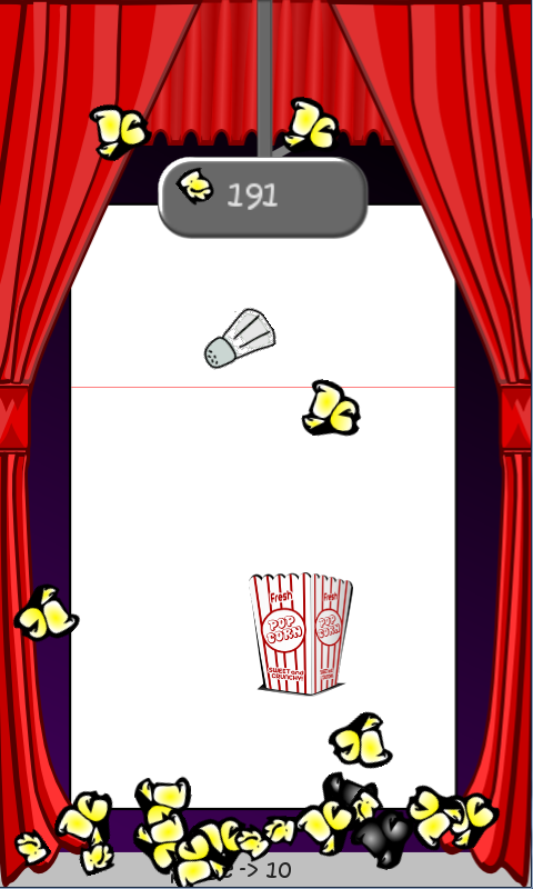 Popcorn PileUP- screenshot