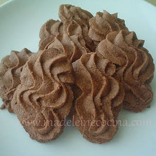 Viennese Chocolate Swirl Cookies.