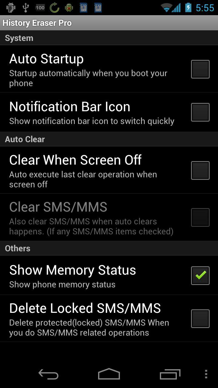 History Eraser Pro - Clean up Screenshot 3