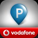 Vodafone – Mobil parkolás logo