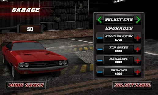 3D Muscle Car Racing Game - screenshot thumbnail