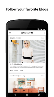 Bloglovin' - screenshot thumbnail