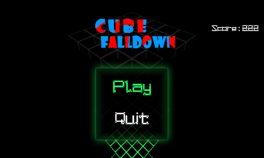 Cube Falldown