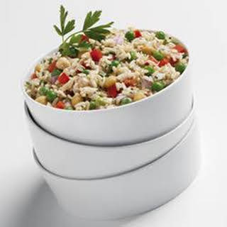 Chilled Asiago Rice Salad.