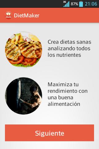 DietMaker: Crea tus dietas