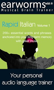 Earworms Rapid Italian Vol.1- screenshot thumbnail