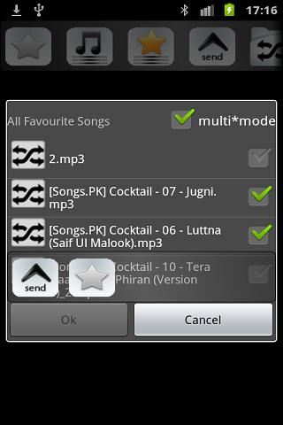 Shuffle Music Player beta - screenshot