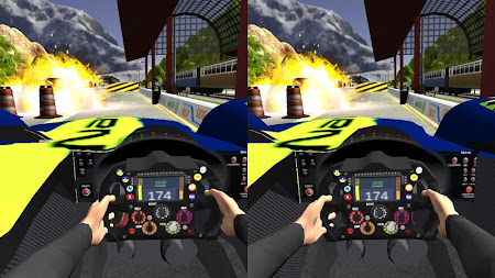 VR Car Vs Train 1.0 screenshot 6184