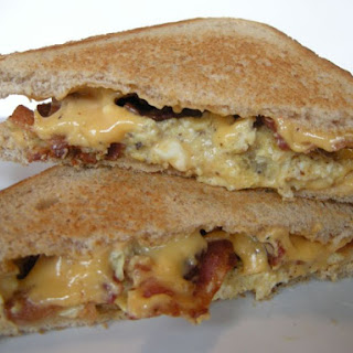 Grilled cheese sandwich, Bama style!.