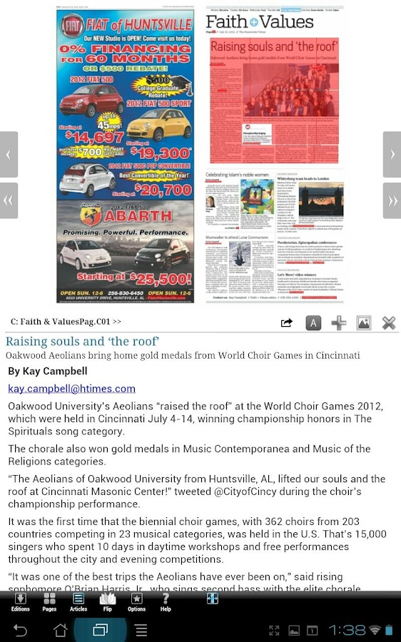 The Huntsville Times - screenshot