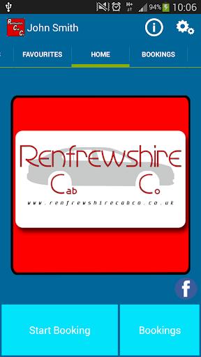 Renfrewshire Cab Co. Taxi Firm