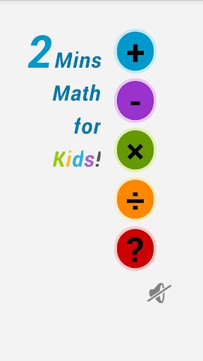 2 Mins Math for Kids