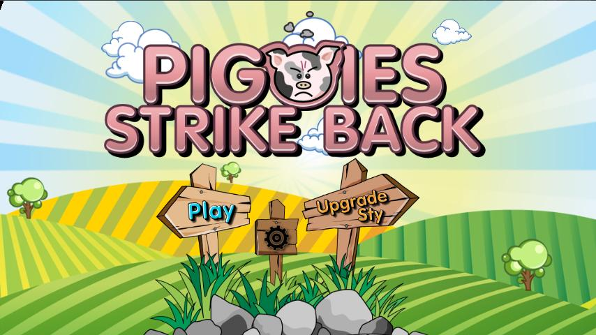 Piggies Strike Back Demo - screenshot
