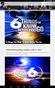 WJBF News Channel 6 - screenshot thumbnail