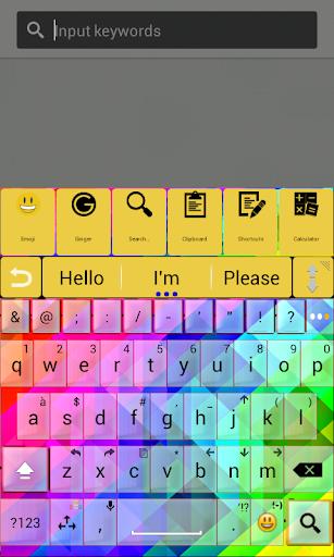 玩免費個人化APP|下載A.I.Typeテーマ抽象的な色א app不用錢|硬是要APP