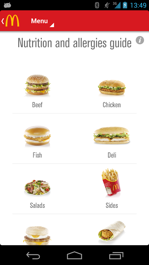 McDonald's UK - screenshot