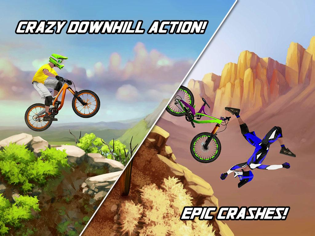 Screenshots of Bike Mayhem Free for iPhone