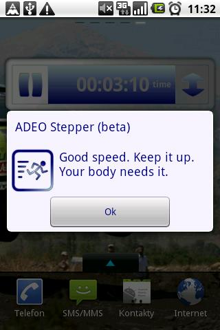 ADEO Stepper (beta) - screenshot