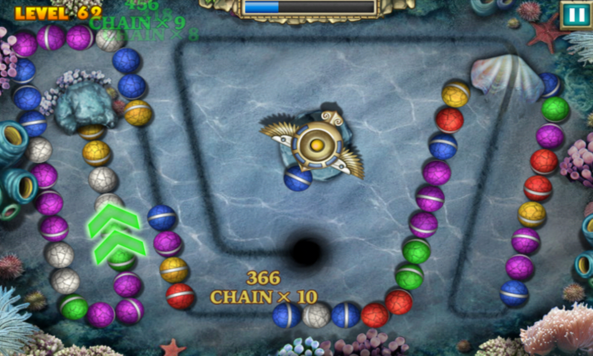 Color zuma game - Marble Legend Screenshot