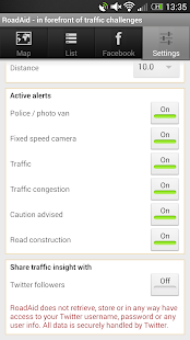 RoadAid - traffic & police - screenshot thumbnail