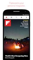 Screenshot of Flipboard: Your News Magazine