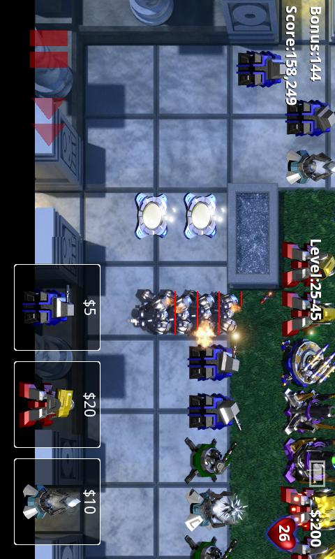 Robo Defense- screenshot