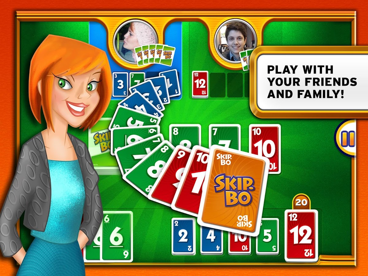 Skip-Bo™- screenshot