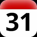 LU widget de vacances civile icon