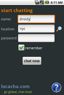 Locacha - Chat Rooms - screenshot thumbnail