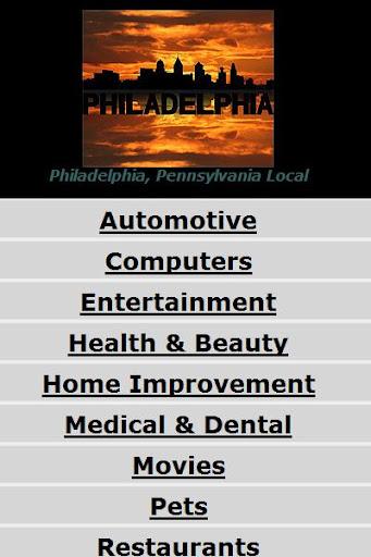 Philadelphia PA Pennsylvania