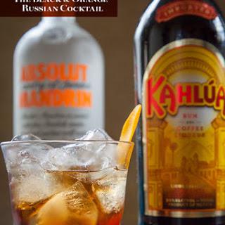 Black and Orange Russian.
