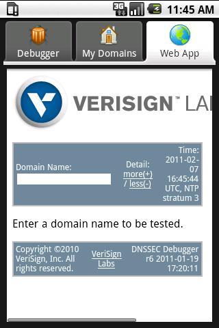 DNSSEC ANALYZER - screenshot