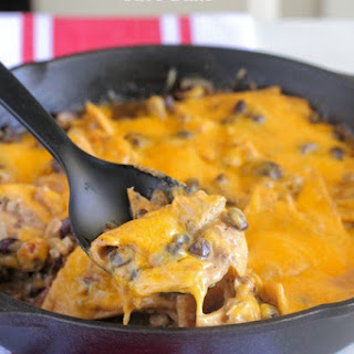 Chicken Black Bean Taco Bake.