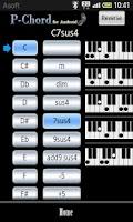 Screenshot of PChord  (Piano Chord Finder)