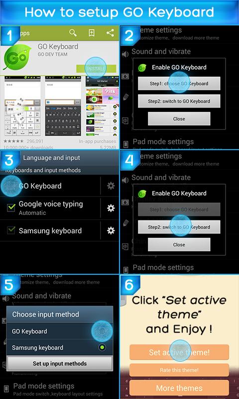 Keyboard Super Color- screenshot