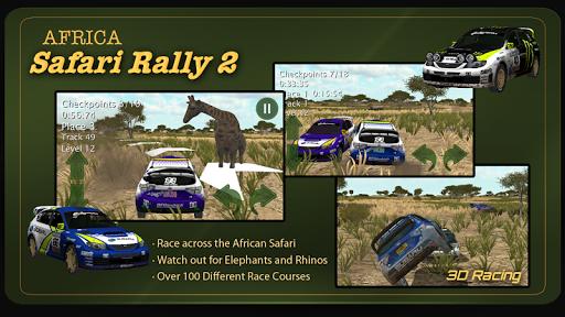 3D Rally Racing Africa Safari