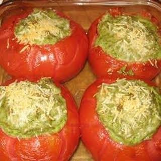 Kathy's Baked Stuffed Tomatoes.