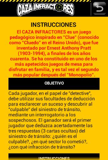 【免費解謎App】Caza Infractores-APP點子