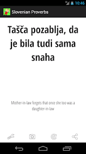 Slovenian Proverbs - screenshot thumbnail