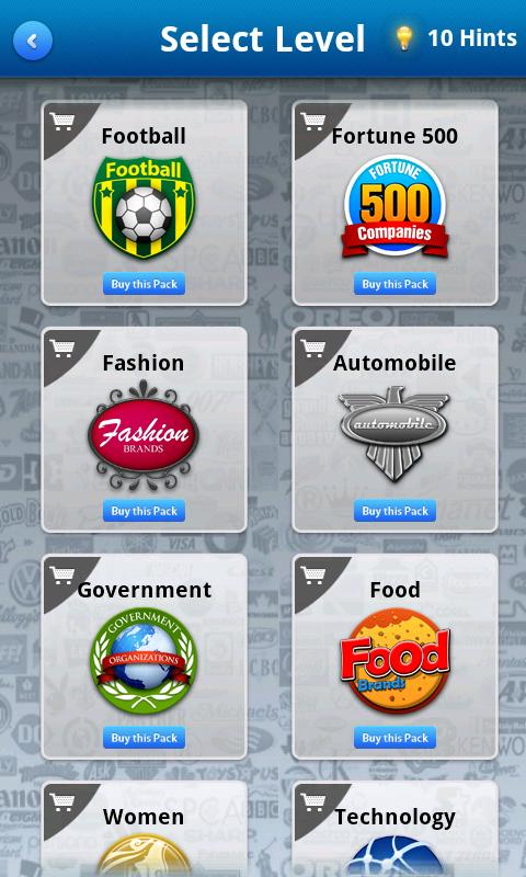 Logo Game Quiz - Guess Logos - screenshot