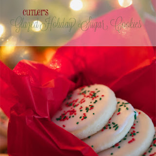 Cutler's Holiday Glazed Sugar Cookies