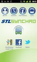 Screenshot of STL Synchro