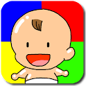 Baby Learns Colors Touch Game icon