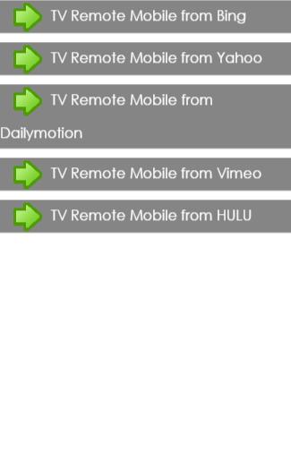 TV Remote Control Setting