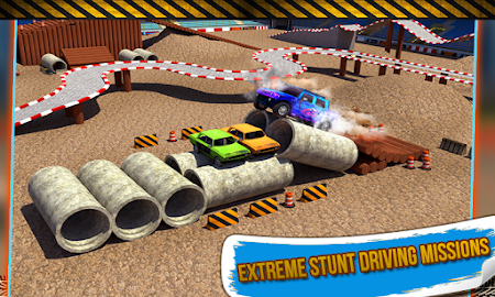4x4 Monster Truck Stunts 3D 1.8 screenshot 641605