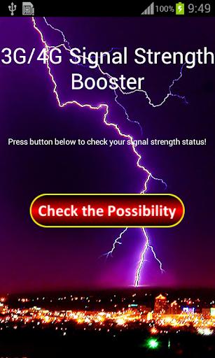 3G 4G Signal Strength Booster